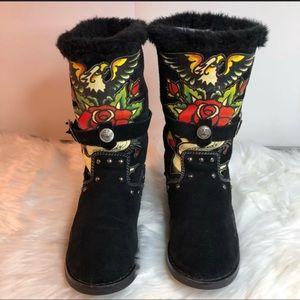 4d15cf6577e Women Ed Hardy Boots New on Poshmark